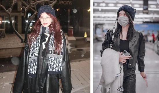 寒风吹得脑壳疼 你可能需要欧阳娜娜的针织帽
