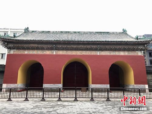 天坛泰元门是什么门