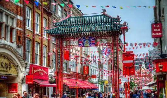 英国 伦敦唐人街