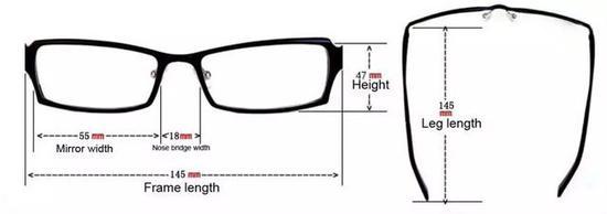 你选对了吗?这些数字是你挑选眼镜的密码