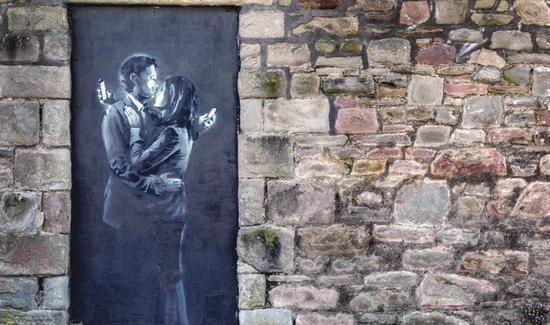 最知名街头涂鸦艺术家班克西艺术史上扮演什么角色