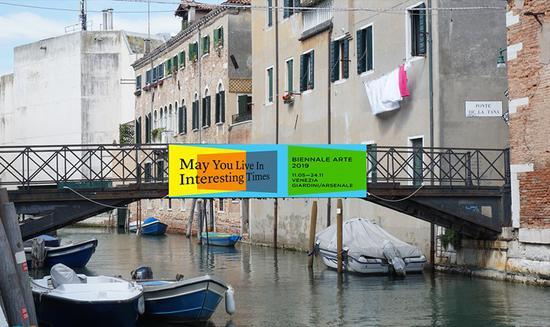 威尼斯双年展期间的水城街道(图片来自:veniceinsider)