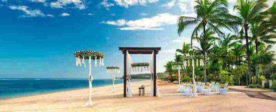 国内海边婚礼