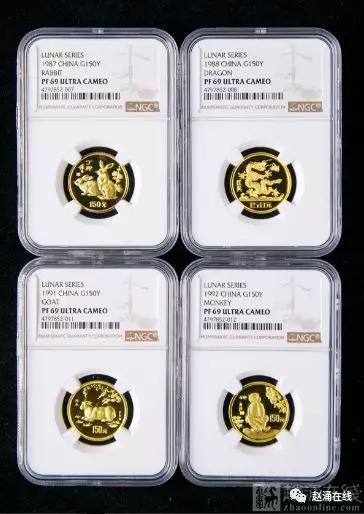 赵涌在线2019年4月金银币成交回顾-天下收藏