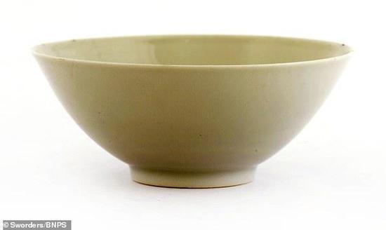 英国拍卖的清朝茶碗(《每日邮报》)
