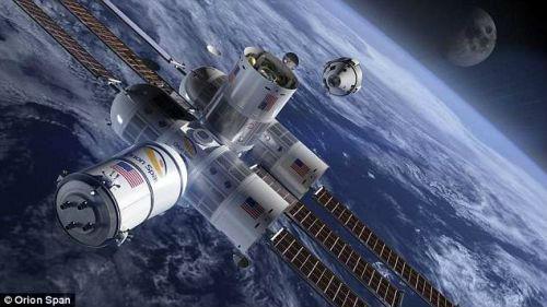 然而,任何太空游都要等到2021年首家太空酒店Aurora Station建成后才能实现。