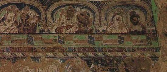 西域壁画中的粉本与使用方法