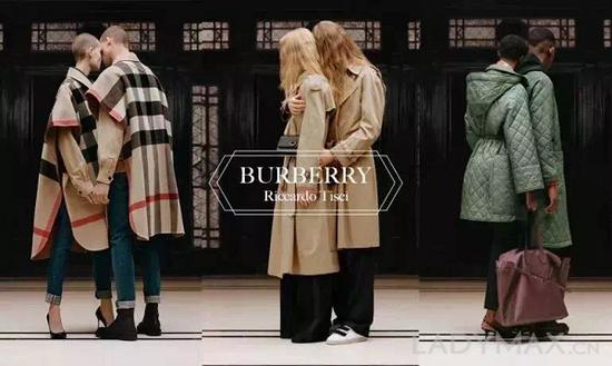 """圖為Burberry 2019早春系列""""B Classics""""廣告大片 Riccardo Tisci 在其 Instagram 上宣佈將與Vivienne Westwood 展開合作"""
