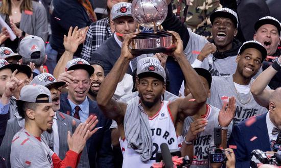 NBA 夺冠标配