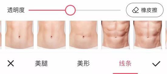 这样看来,靠健身来获取腹肌好像……的确太花时间了?
