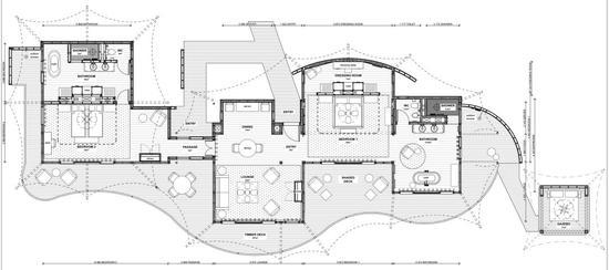 △家庭套房平面图