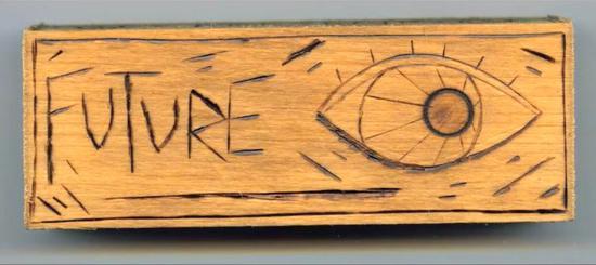 每一条咒语都是木制烙画