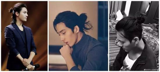 国内也有很多中长发男艺人的标杆,比如陈坤,帅的很有型,有自己的味道