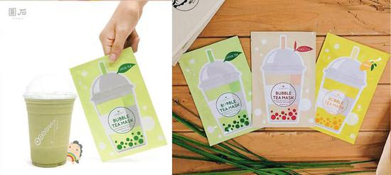 幸福感护肤 | 日本人真会玩 珍珠奶茶面膜唇膏美甲太甜了吧