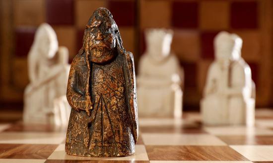 失落了近200年的珍贵西洋棋子再次面世