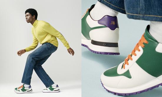 Louis Vuitton 在早先已经开启了定制业务,不过可选择的款式极其有限(图片来源:Louis Vuitton)