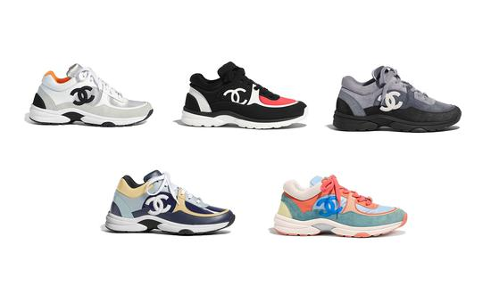 CHANEL Sneakers(图片来源:Google)