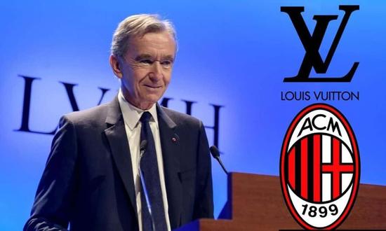 奢侈品行业做起足球生意 LVMH集团确认收购意AC米兰