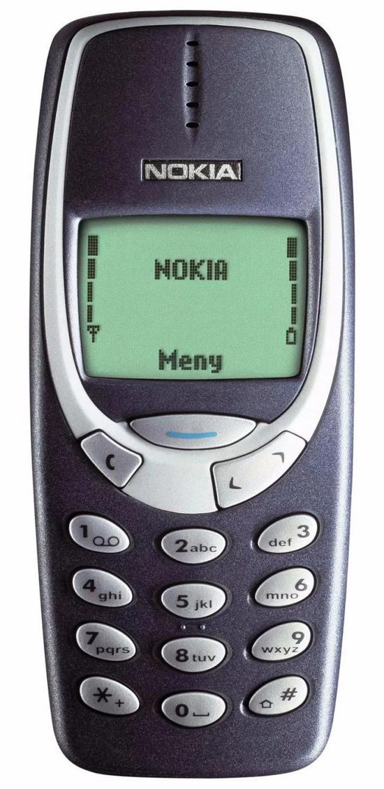 诺基亚 3310。该机于 2000 年发布,销量为 1 亿 3600 万部。