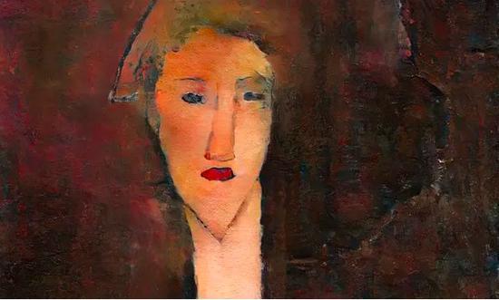数字复原的、被覆盖的黑斯廷斯肖像