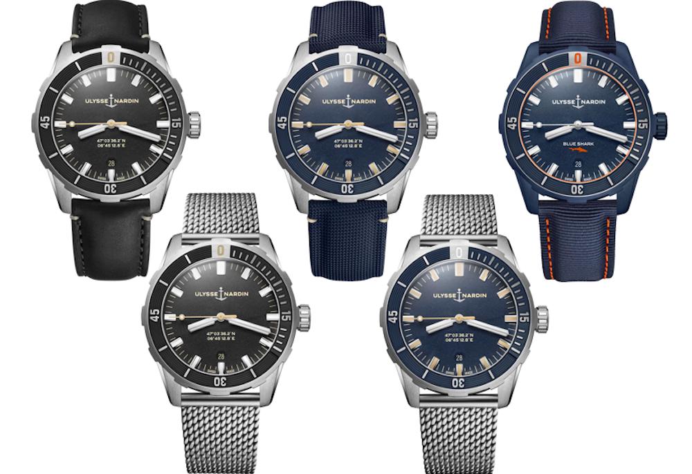 雅典表潜水系列42毫米腕表