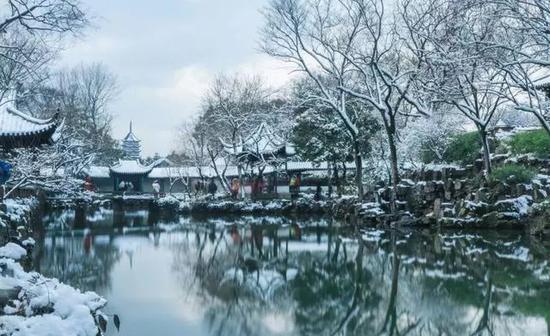 去看一下雪,扬州就成了广陵。