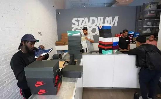 Stadium Goods实体店