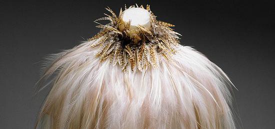 时装学院馆藏之一。图片来源:The Metropolitan Museum of Art