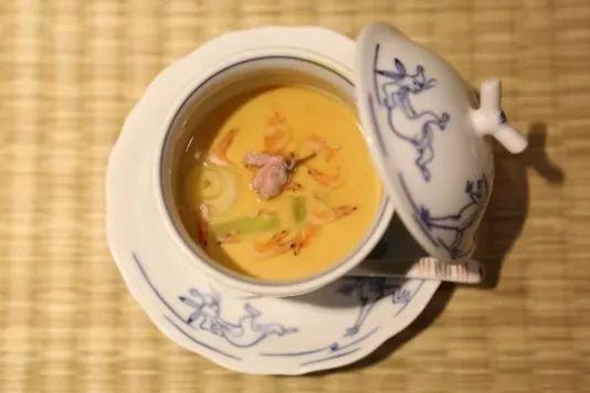 樱花虾茶碗蒸