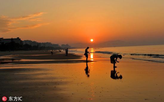 热情洋溢的海南三亚 图片源自东方IC