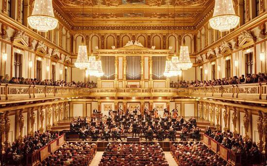 维也纳金色大厅 图片来源自PinterestEsperanza