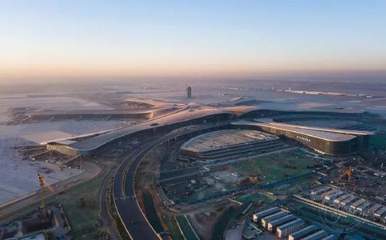 北京大兴国际机场航拍 ©wanquanfoto