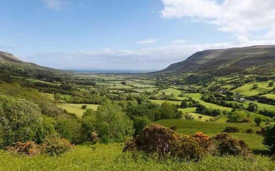 安特立姆峡谷(Glens of Antrim),北爱尔兰