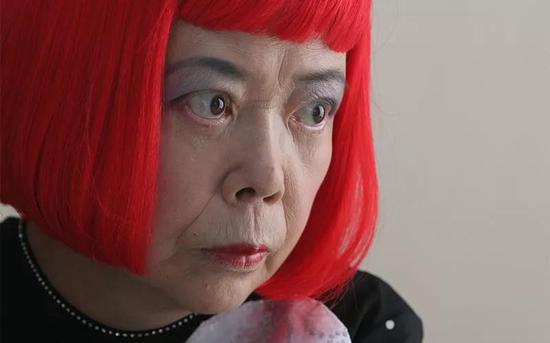 Yayoi Kusama, photo ? Jeremy Sutton-Hibbert/Alamy
