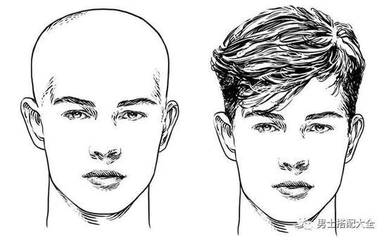 从男明星发型看你的脸型更适合什么发型?图片