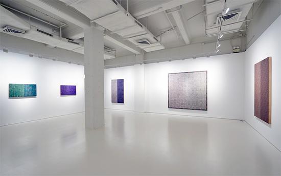 麦克阿瑟.比尼恩横跨三个展览空间