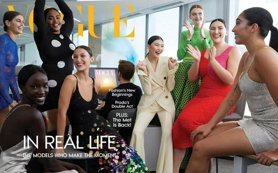 中国香港版《VOGUE》发布九月刊封面!