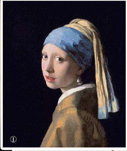 荷兰画家维米尔名画《戴珍珠耳环的少女》