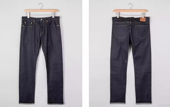 ▲Gap 1969 舒适镶边弹力修身牛仔裤,699元