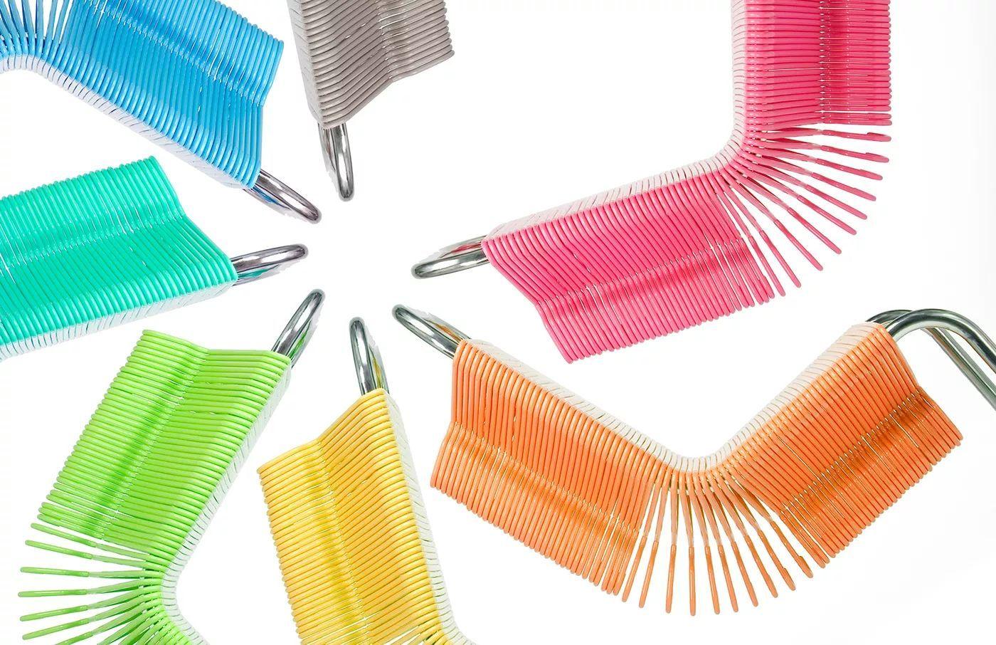 你绝对想不到 这15种材质也能做成椅子!