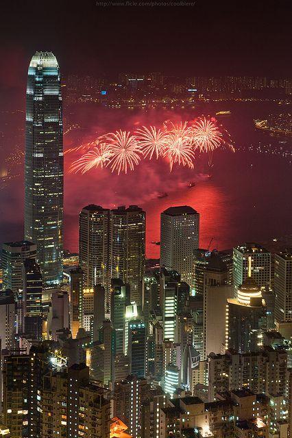 香港跨年 图片来源自flickr.com