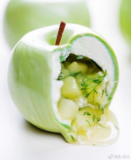 Cedric Grolet的甜品 图片来源自微博