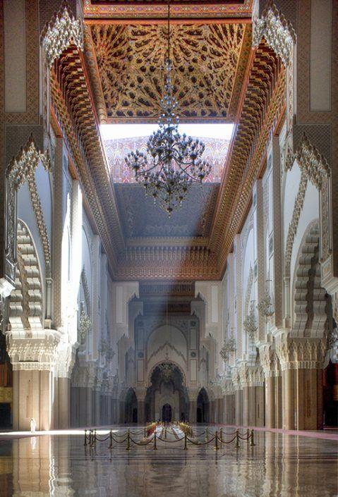 哈桑二世清真寺 图片来源自flickr.com