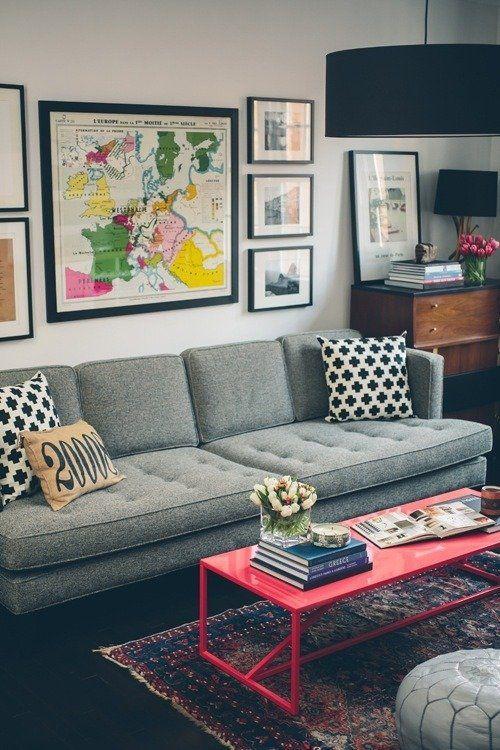 铁艺茶几 图片来源自apartmenttherapy.com