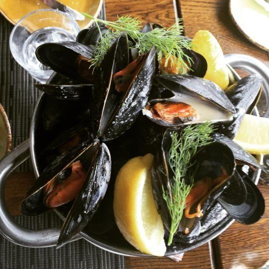新鲜海鲜食物 图片来源自yahoo.com