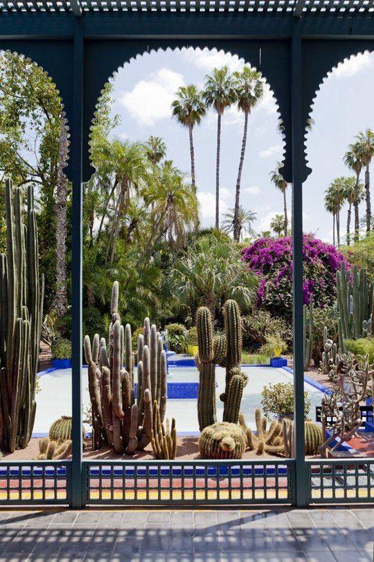 马约尔花园 图片来源自apartmenttherapy.com