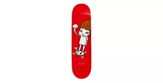 奈良美智:铁拳/叛逆女孩 滑板