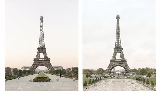 在杭州建的这座巴黎复制城 只差一条塞纳河了
