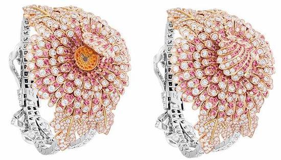 梵克雅宝 Le Jardin花园系列高级珠宝腕表