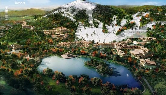 长白山度假酒店 图片来源自长白山度假区官网